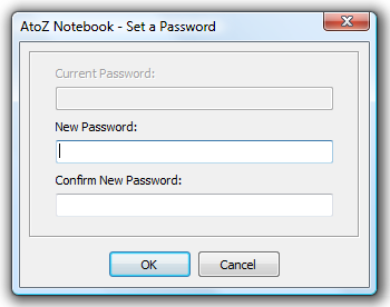 Change Password Dialog